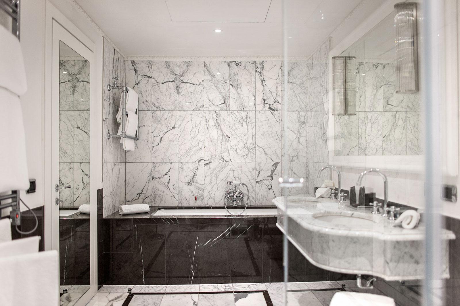 Baglioni Hotels_Margraf marble in luxury hotels - Margraf